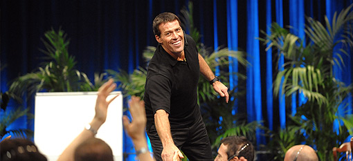 Anthony Robbins Live on Stage